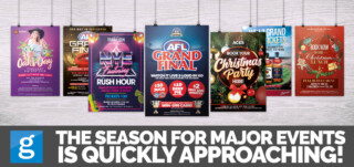 The Season For Major Events Is Fast Approaching!